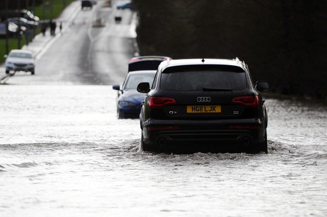 The country could be hit by floods in the next 48 hours