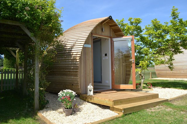 Holiday pods look set to be a big hit this summer