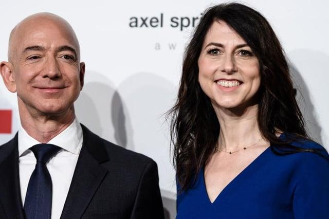 The novelist and philanthropist MacKenzie Scott is now the world's 18th-richest person (Shutterstock)