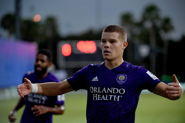 Orlando City forward Chris Mueller is leaving the MLS club, with Scotland mooted as his most likely destination.