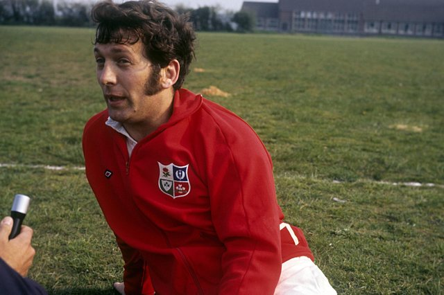 John Dawes captain the British & Irish Lions to a Test series victory in New Zealand. Picture: PA Wire