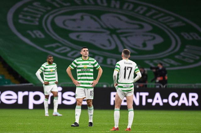 Celtic lost their opening match in the Europa League group stages. Picture: SNS