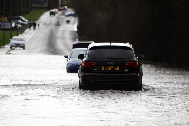 Travel disruption, flooding, and property damage could be expected.