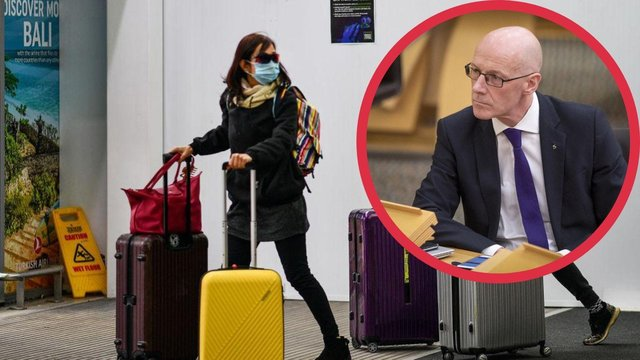 John Swinney, deputy First Minister said travel was only permitted for essential reasons.