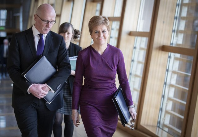 John Swinney is Nicola Sturgeon's number two, but is facing mounting pressure from opposition parties following the exam results controversy.