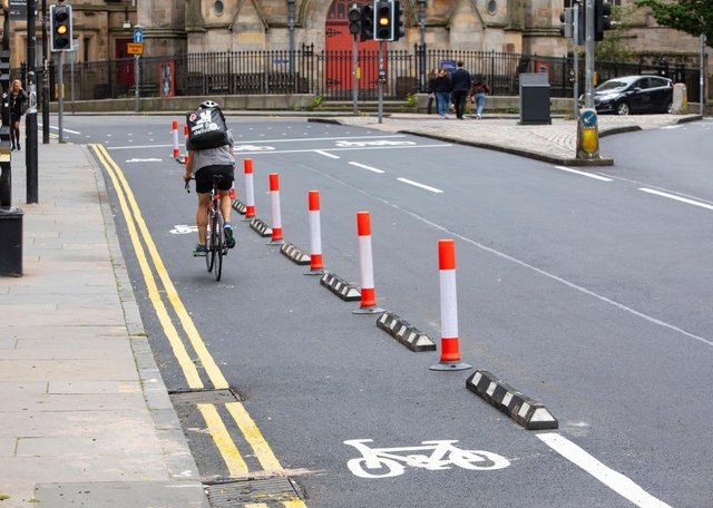 Spaces for People meant temporary changes for walking and cycling during the pandemic.
