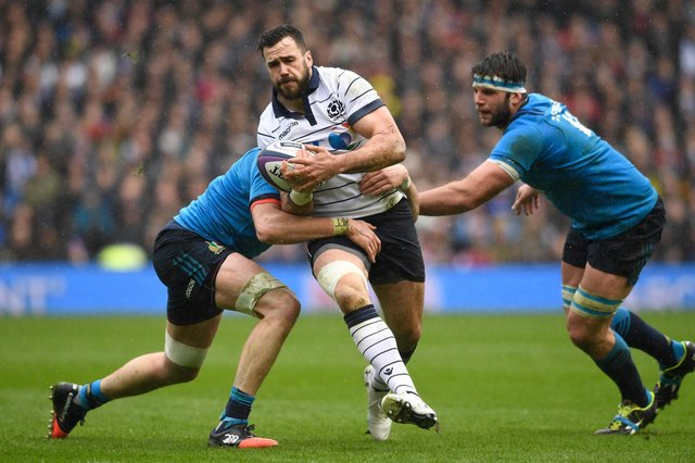 Alex Dunbar, who has announced his retirement, was a bulwark for Glasgow and Scotland. Picture: Stu Forster/Getty Images