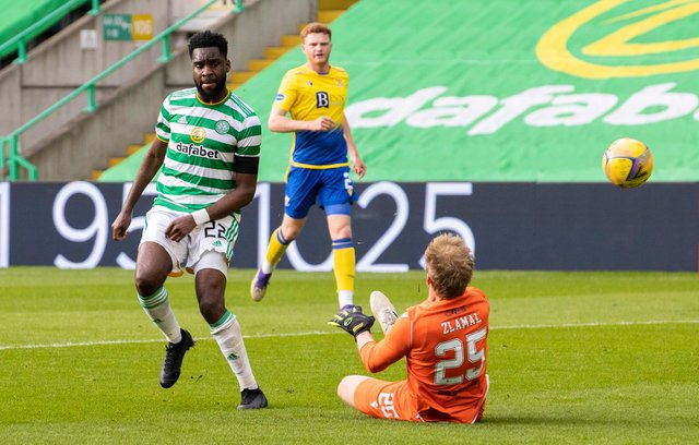 Celtic striker Odsonne Edouard is reportedly wanted by Southampton. Picture: SNS
