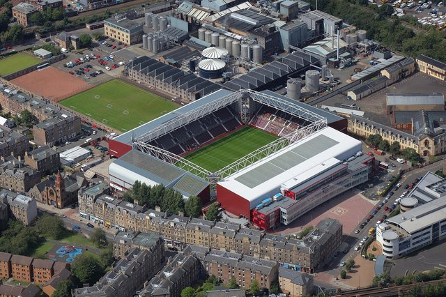 The Tynecastle Park area has been touted as a possible new Edinburgh Festival venue.