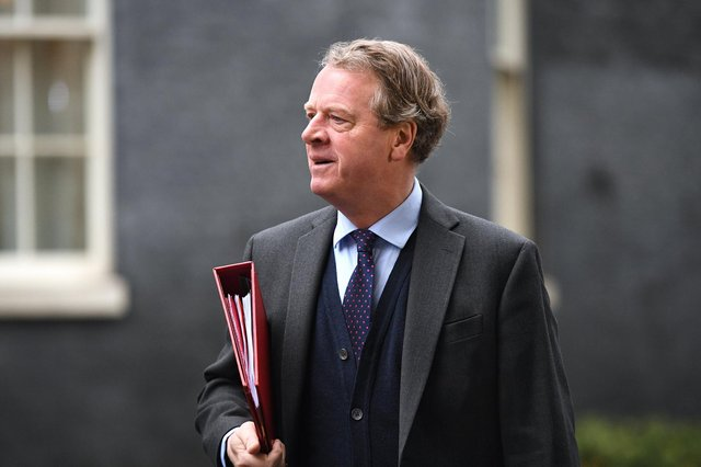 Scotland Secretary Alister Jack arrives at Downing Street. Picture: Leon Neal/Getty Images