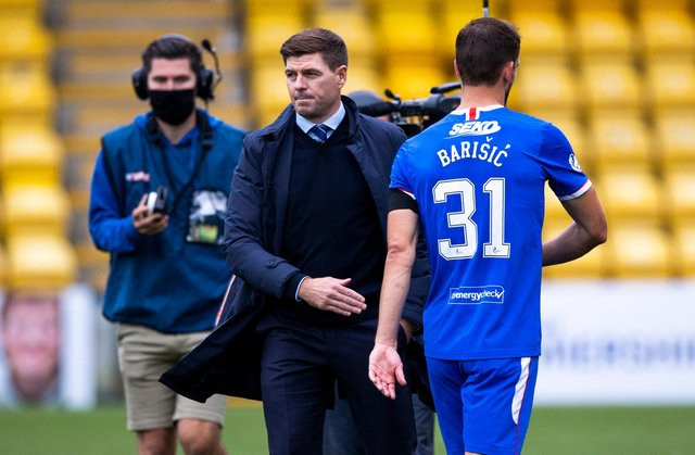 Borna Barisic is one of Steven Gerrard's and Rangers' key assets. Picture: SNS