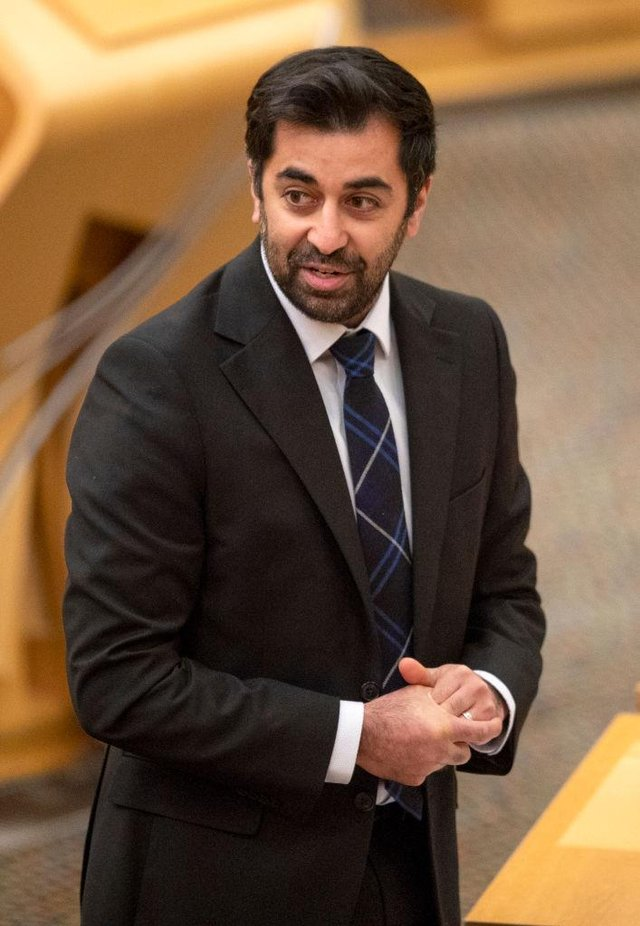 Justice Secretary Humza Yousaf championed the Hate Crime Bill