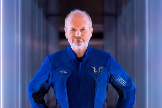 Scot Dave Mackay is the chief pilot for Sir Richard Branson's historic Virgin Galactic flight to the edge of space.