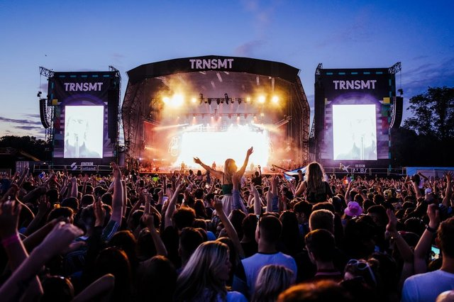 The TRNSMT festival is due to go ahead on Glasgow Green in September - two months later than planned. Picture: Gaelle Beri