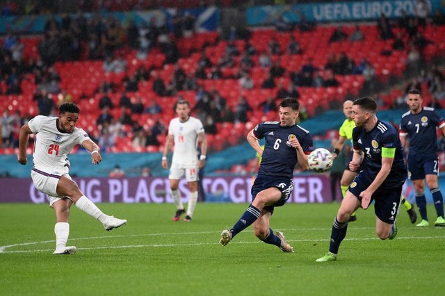 Scotland shut down England during the 0-0 draw at Wembley.