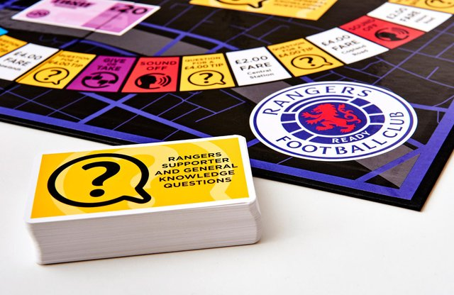 Rangers FC is one of three new sports-themed editions. Picture: Malcolm Cochrane.