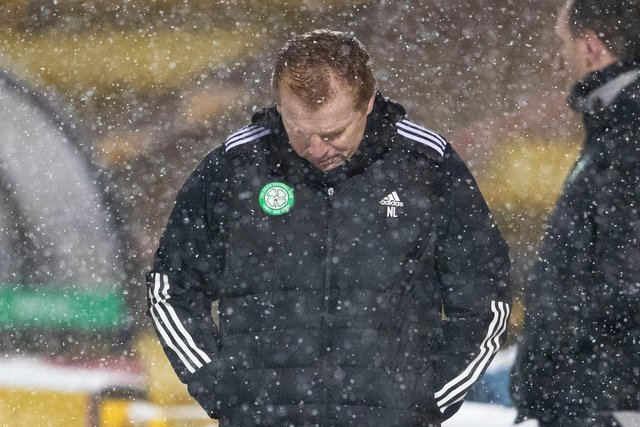 Neil Lennon has been buried as Celtic manager by a blizzard of bad outcomes. (Photo by Alan Harvey / SNS Group)