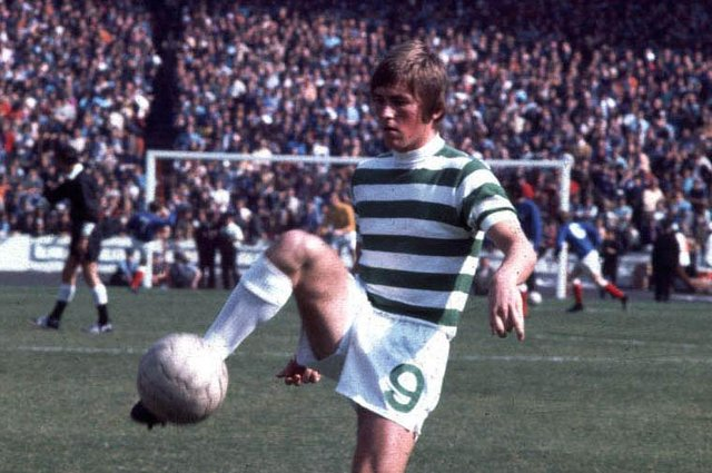 Kenny Dalglish in action for Celtic in 1970. Pic: SNS