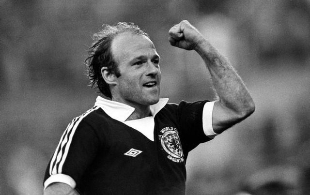 Archie Gemmill celebrates after netting the winning goal for Scotland on June 11, 1978. (Picture: SNS)