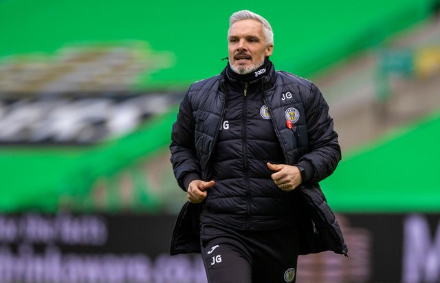 St Mirren manager Jim Goodwin has agreed a new contract. Picture: SNS