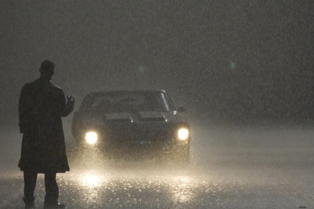 Sean Bean in the 2007 remake of The Hitcher. Picture: Rogue Pictures/Kobal/Shutterstock
