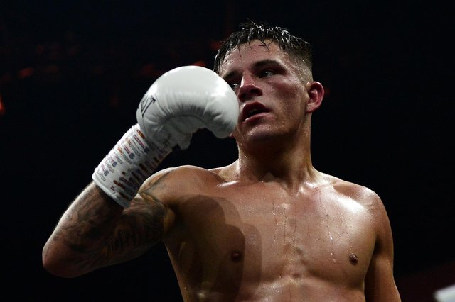 Lee McGregor was scheduled to fight Frenchman Karim Guerfi in Dubai. Picture: Mark Runnacles/Getty Images