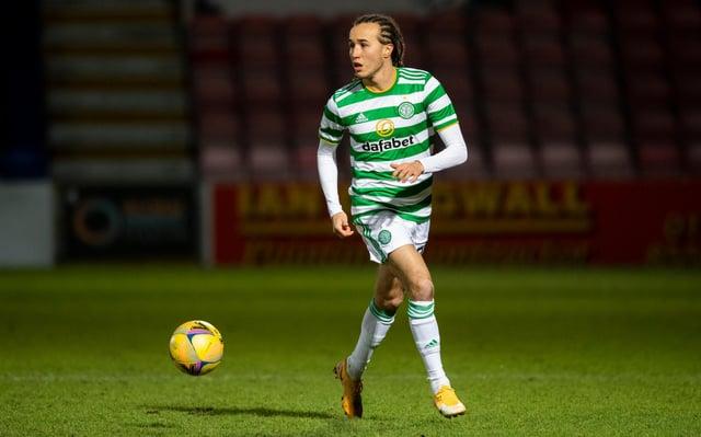 Celtic's on loan Uruguayan defender Diego Laxalt. Picture: SNS