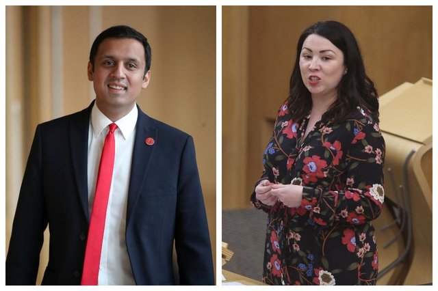 Anas Sarwar and Monica Lennon are the two candidates for the leadership of Scottish Labour.