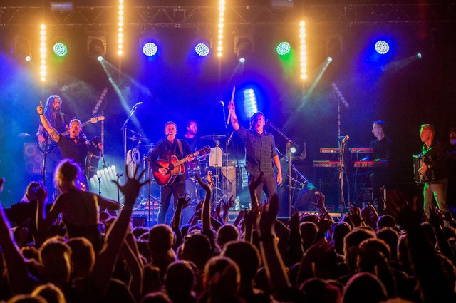 Skerryvore are one of Scotland's most popular bands. Picture: Alan Peebles