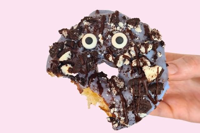 DOH's Cookie Monster doughnut