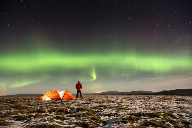Parts of The Cairngorms have been designated a Dark Sky Park.