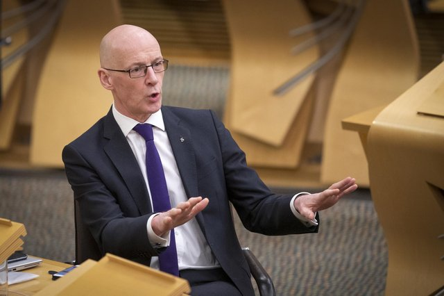 John Swinney knows what can be achieved if entrepreneurs are given the support they need, says Jim Duffy (Picture: Jane Barlow/PA)