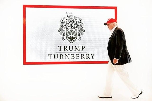 Donald Trump acquired the Turnberry resort for £35.7m as part of a decade-long cash spending spree. Picture: John Devlin