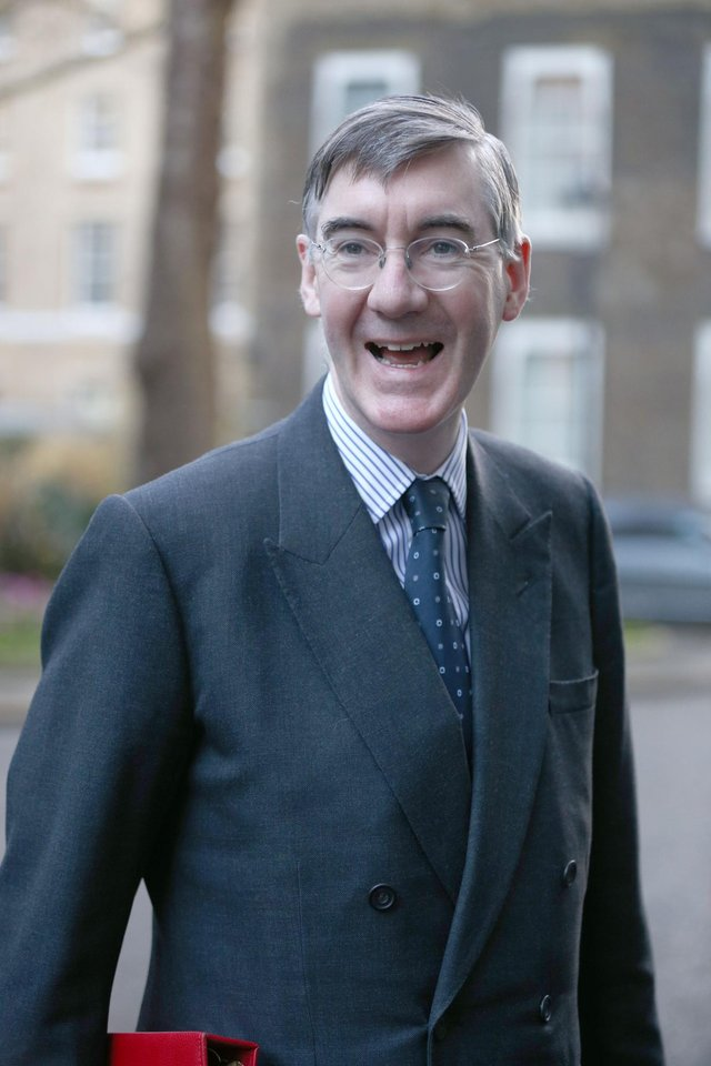 """Jacob Rees-Mogg has accused theSNP of being """"still grumpy"""" over the independence referendum result."""