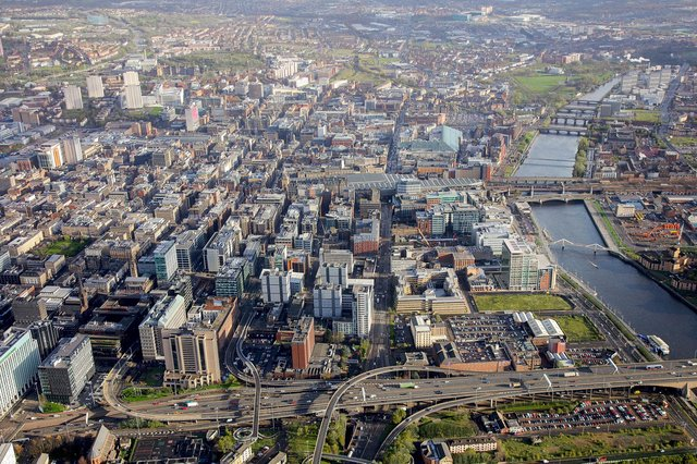 The research project looking at Glasgow's office stock was conducted by property consultancy CBRE.