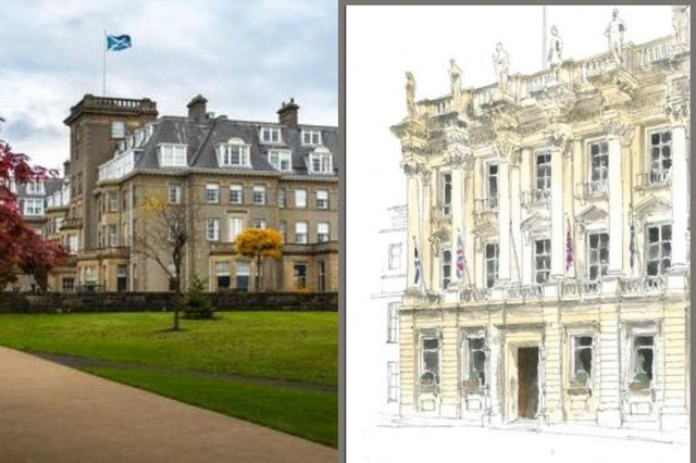 Gleneagles set to open luxury townhouse with rooftop bar and members club in former Bank of Scotland at St Andrew Square