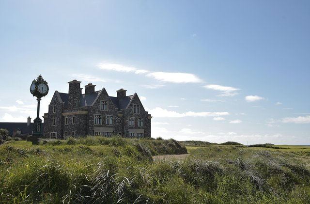 Donald Trump's Doonbeg resort charged the US Secret Service nearly £12,000 for two trips in 2017. Picture: Charles McQuillan/Getty