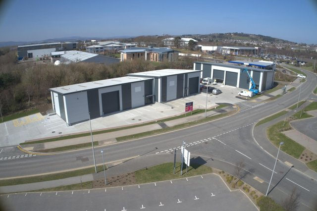The Crescent trade park at Westhill, Aberdeen was built speculatively by Knight Property Group and completed last March.