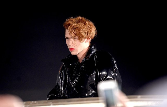 Sophie performs onstage during day 2 of the 2016 Coachella Valley Music & Arts Festival (Weekend 1) at the Empire Polo Club on April 16, 2016 in Indio, California