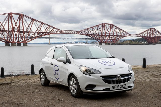 BT is to accelerate the delivery of full fibre internet to 25 million homes across the UK, including in Scotland, by December 2026, ahead of its previous target of 20 million homes. Picture: Jeff Holmes