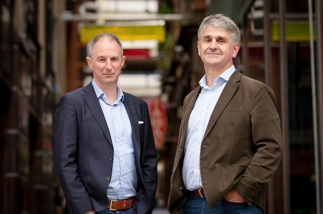 Glasgow-headquartered Exizent was founded by Nick Cousins and Aleks Tomczyk and is looking to revolutionise the bereavement process.
