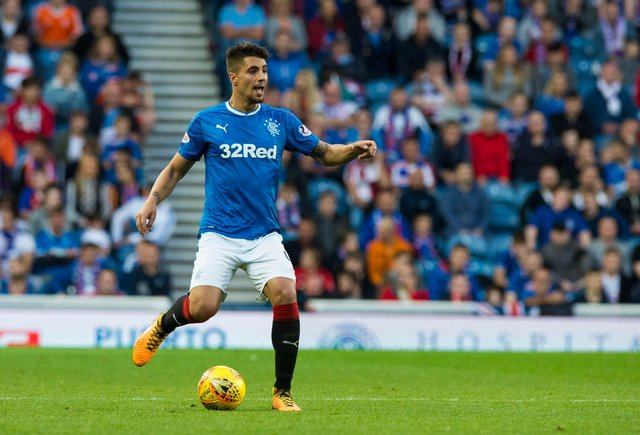 Fabio Cardoso played one season for Rangers between 2017 and 2018. Picture: SNS