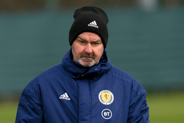Scotland manager Steve Clarke has named his squad for the upcoming World Cup qualifiers. (Photo by Alan Harvey / SNS Group)