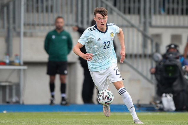 Rangers right-back Nathan Patterson made an impressive Scotland debut as a substitute in the 1-0 win in Luxembourg. (Photo by Christian Kaspar-Bartke/Getty Images)