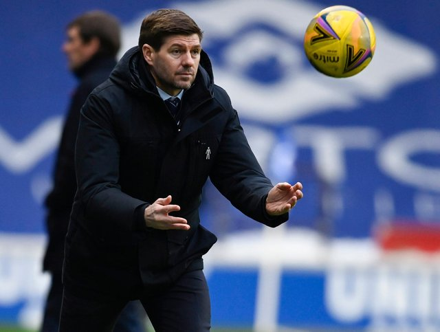 Steven Gerrard has been linked with Everton. Picture: SNS