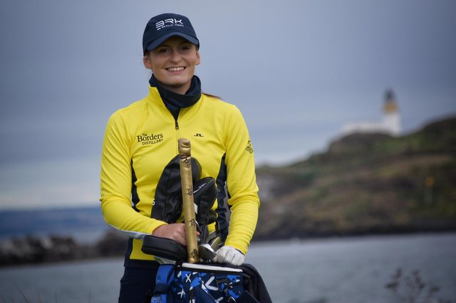 Tara Mactaggart has turned professional after spending the last four years working as golf co-ordinator at Archerfield Links. Picture: Ross Duncan