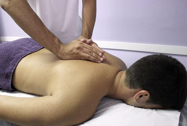 Sports massage therapists have been able to resume work since lockdown.