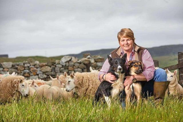 Sutherland sheep farmer, Joyce Campbell