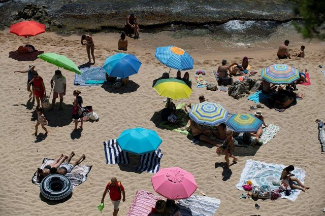 Some Spanish beaches have been forced to close due to overcrowding (Getty Images)