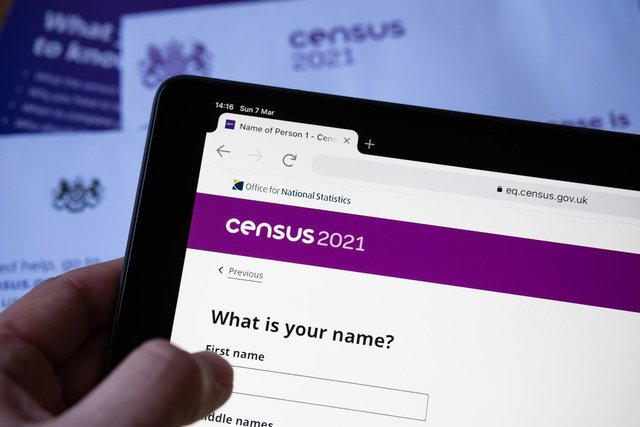 The census has gathered information on every household in the UK since it was first introduced in 1801 (Shutterstock)